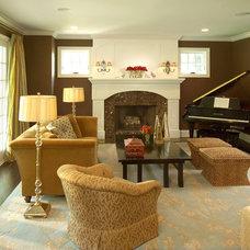 Traditional Living Room by RLH Studio