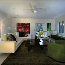 Contemporary Living Room by Philip Nimmo Design