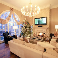 Traditional Living Room by Charles Neal Interiors