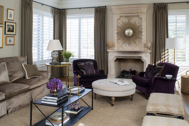 Traditional Living Room by Wendy Labrum Interiors