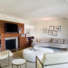 Modern Living Room by Angela Dechard Design