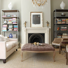 Eclectic Living Room by Niche Interiors