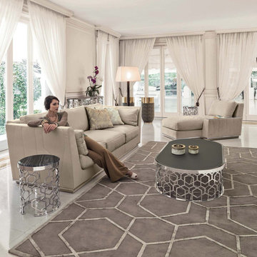 Glamour Living Rooms