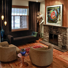 Eclectic Living Room by Larry Nicols Photography (formerly 2kGrafx)