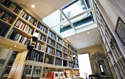 Beautiful Modern Home Libraries