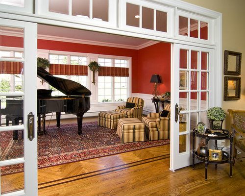 Sliding French Doors With Transom Houzz
