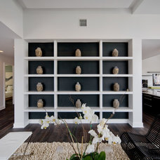 Contemporary Living Room by Rob Bowen Design Group
