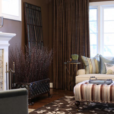 Traditional Living Room by Exclusive Interiors inc.