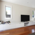The Bletchley Loft Contemporary Living Room Perth By The Rural