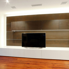 Modern Living Room by Melbourne Contemporary Kitchens
