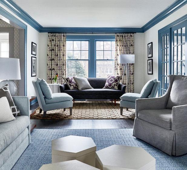 Beach Style Living Room by Toledo Geller