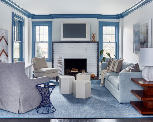 SaveEmail - 23,795 Beach Style Living Room Design Ideas & Remodel Pictures Houzz