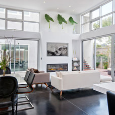 Contemporary Living Room by American Coastal Properties