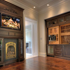 Traditional Living Room by Stone City - Kitchen & Bath Design Center