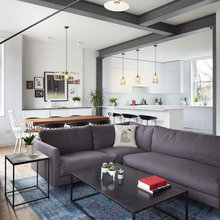 Houzz Tour: A Dark Flat is Redesigned to Gain More Living Space