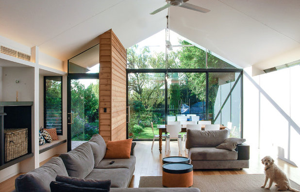 Contemporary Living Room by Anatoly Patrick Architecture