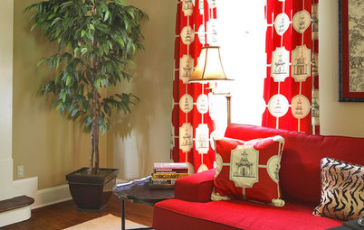 Inspired by Fall: Reds, Oranges and Browns at Home