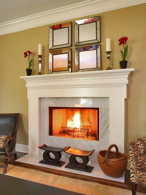 SaveEmail - Best Black Marble Fireplace Surround Design Ideas & Remodel