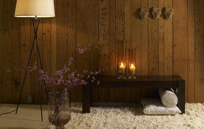 How to Update Cozy Wood Paneling