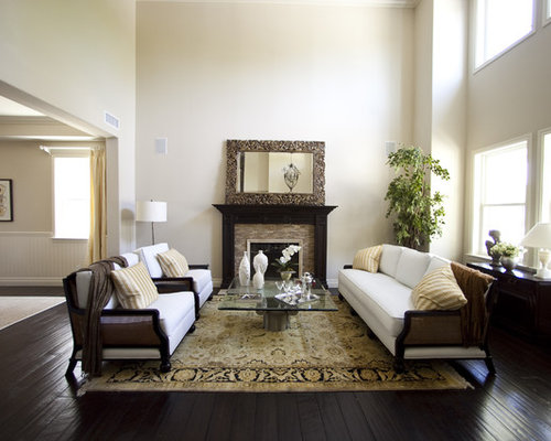 Rug On Dark Floor - Rug On Dark Floor Houzz