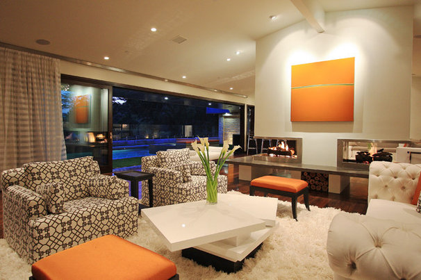 Modern Living Room by Globus Builder