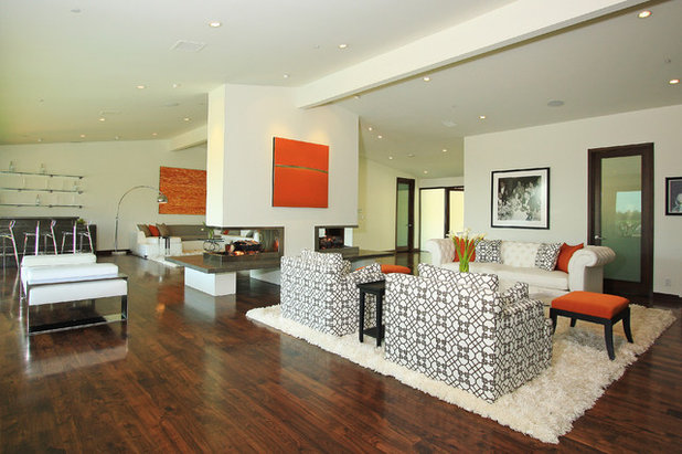 Contemporary Living Room by Globus Builder
