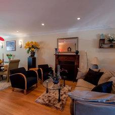 Midcentury Living Room by Michael Nash Design, Build & Homes
