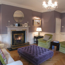 Traditional Living Room by Grainne Crowley