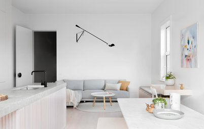 Houzz Tour: A White-on-White Home Radiates Scandinavian Charm