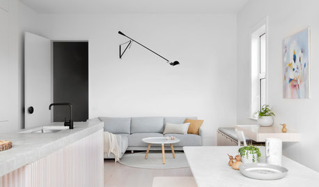 Houzz Tour: A White and Pale Wood Home Radiates Scandi Charm