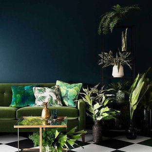 Inspiration for an eclectic living room in Los Angeles.