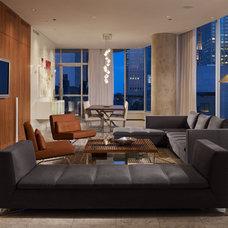 Contemporary Living Room by Centaur Interiors