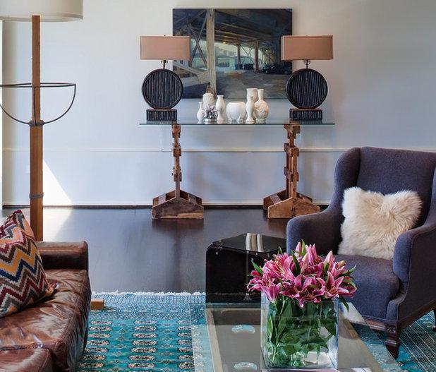 Contemporary Living Room by Buckingham Interiors + Design LTD