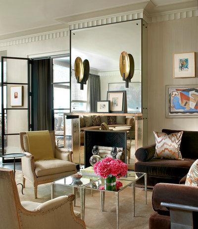 Contemporary Living Room by Darcy Bonner & Associates