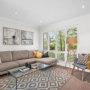 Golf Avenue Mona vale living room after