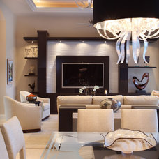 Contemporary Living Room by Jody Smith Browns Interiors