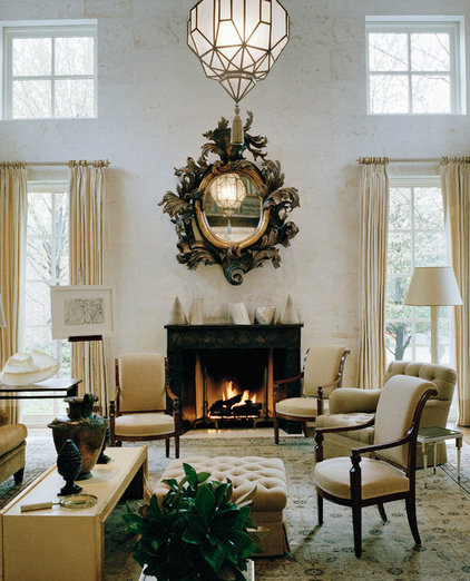 Traditional Living Room by Rizzoli New York