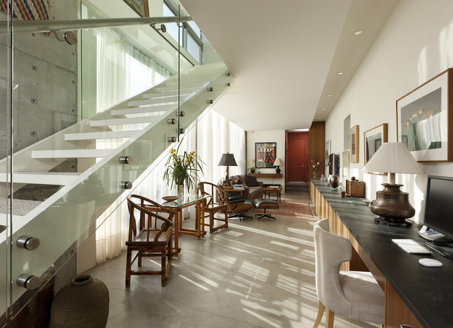 Modern Staircase by Abramson Teiger Architects