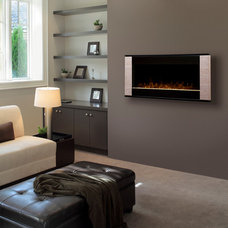 Traditional Living Room by Electric Fireplaces Direct
