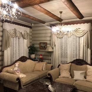 Неиссякаемый источник вдохновения для домашнего уюта: гостиная комната в классическом стиле