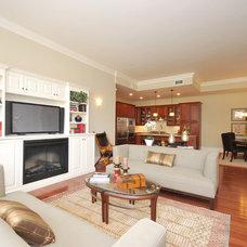 Traditional Living Room by Haddad Hakansson Design Studio
