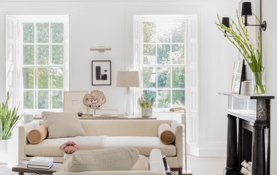Houzz Tour: Relaxed Refresh for an 1830 Greek Revival Home