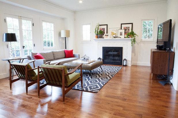 Contemporary Living Room by Joy Street Design