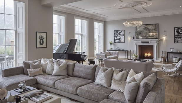 Houzz Tour A Georgian Home Blends Period Features And