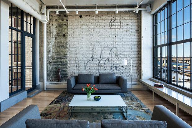 Industrial  Wohnbereich by MSR Design