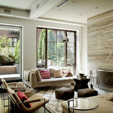 Contemporary Living Room by David Howell Design