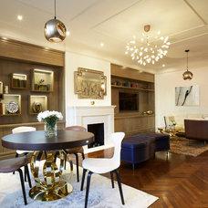 Contemporary Living Room by Elise Som Design Studio