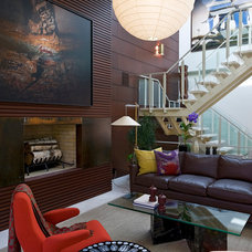 Modern Living Room by Michael Haverland Architect