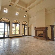 Mediterranean Living Room by Fratantoni Luxury Estates