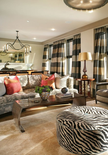 Contemporary Living Room by Shields & Company Interiors